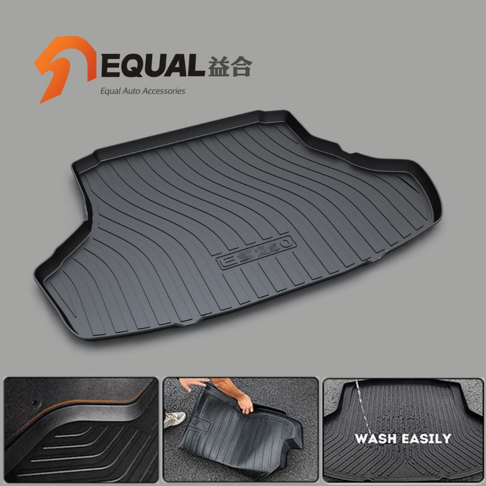 Custom fit car trunk mats for LEXUS ES ES300H ES250 GS GX LX RX NX300H BOOT LINER REAR TRUNK CARGO MATS TRAY CARPET MUD COVER