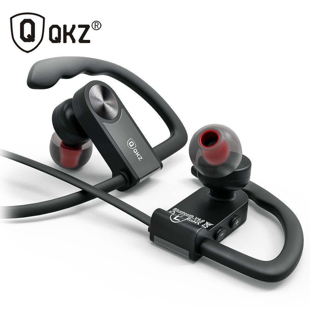 Bluetooth Écouteurs Sport Sans Fil QKZ QG8 HIFI Écouteurs Musique Stéréo sans fil Pour iPhone Samsung Xiaomi fone de ouvido