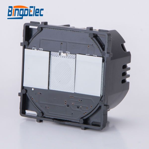 2gang 1way touch electeic switch function part, no switch panel ,EU/UK standard ,Hot sale