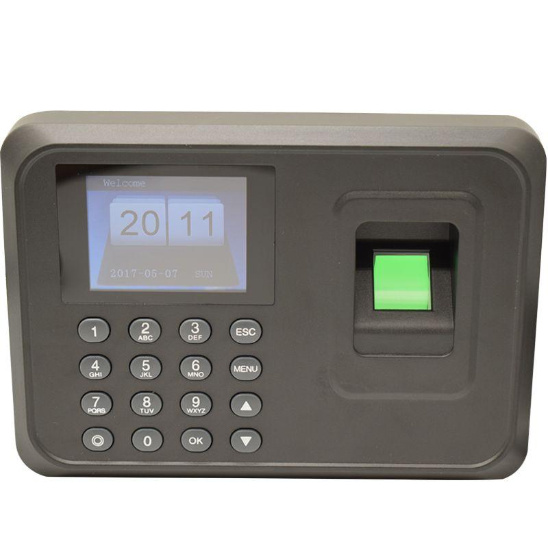 Лидер продаж 1000 пользователей 2.4 дюймов TFT Экран Фингерпринта сотрудник биометрический время Регистраторы с USB Бесплатная Программы для ком...
