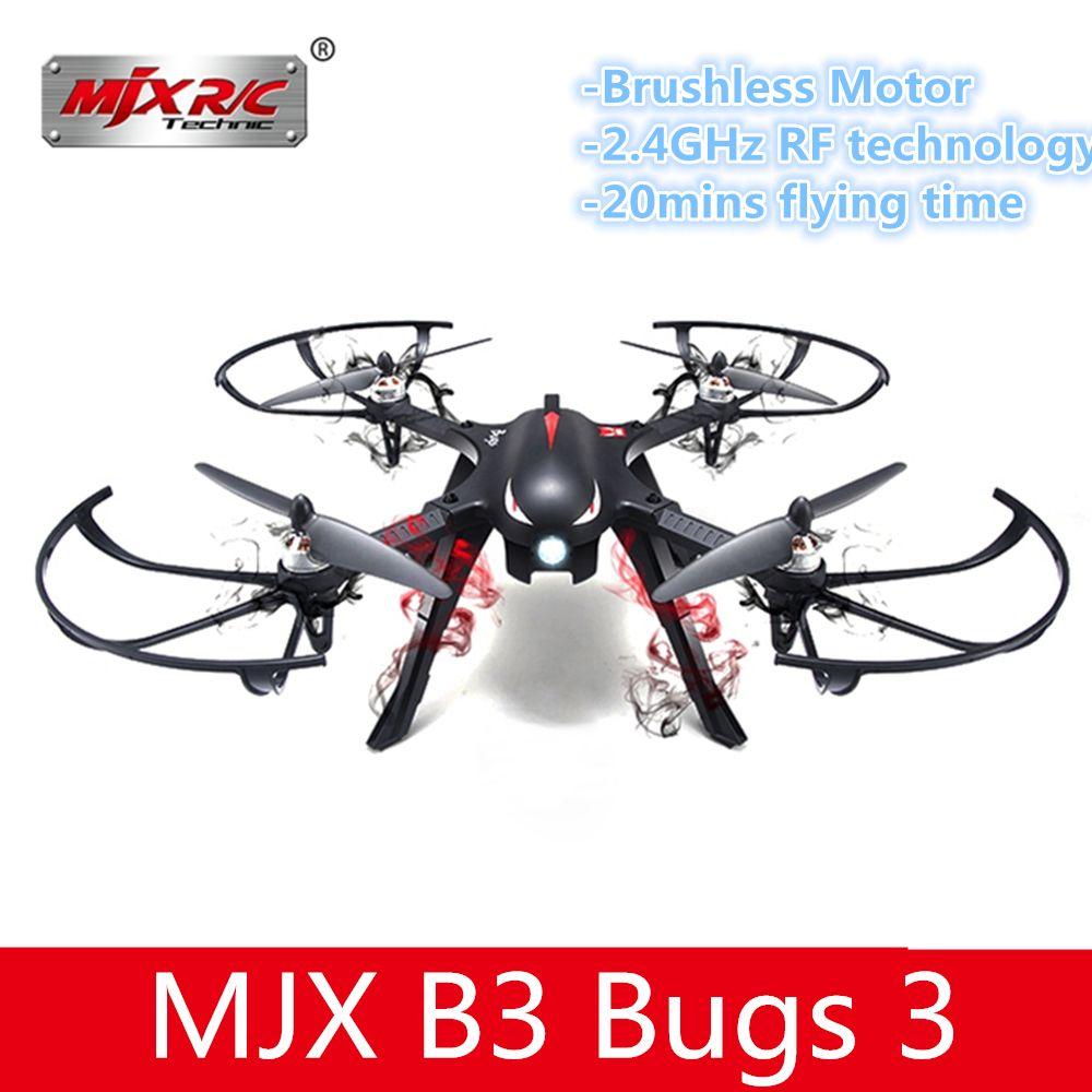 MJX B3 Bugs 3 Mini RC Drone Quadcopter Bürstenlosen Mit 1306 2750KV Motor 7,4 v 850 mah 45C Batterie VS bugs 3 Drone Hubschrauber Spielzeug