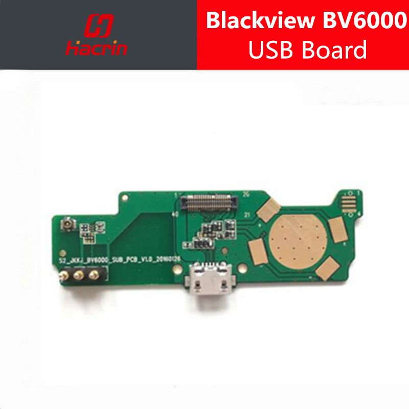 hacrin Blackview BV6000 USB Board usb plug charge controller board repair replacement Accessory for Blackview BV6000S