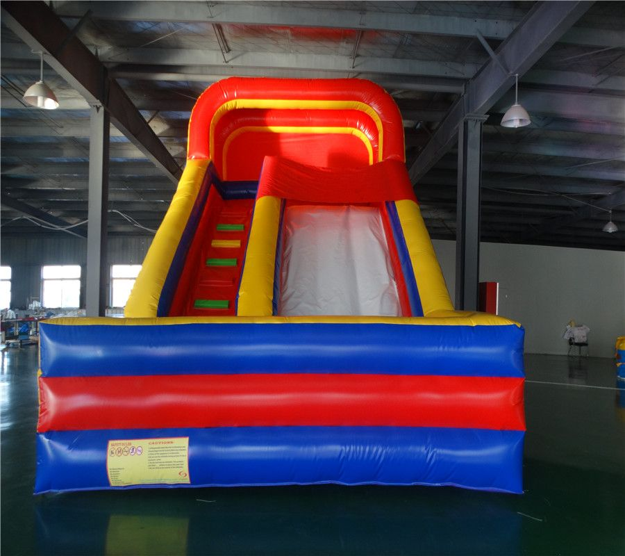 2017 PVC inflatable slide with good quality from shanghai factory