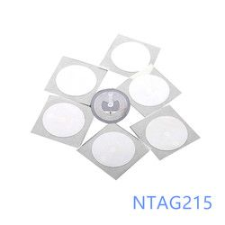 ntag215 NFC tags for Tagmo D25 mm - pack of 100 pcs