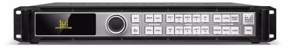 MAGNIMAGE LED-780H 4 karat x 2 karat LED video prozessor led780h 4 Unabhängige Ausgang 4 Bildschirme Spleißen in 1 Prozessor mehrere Cascade