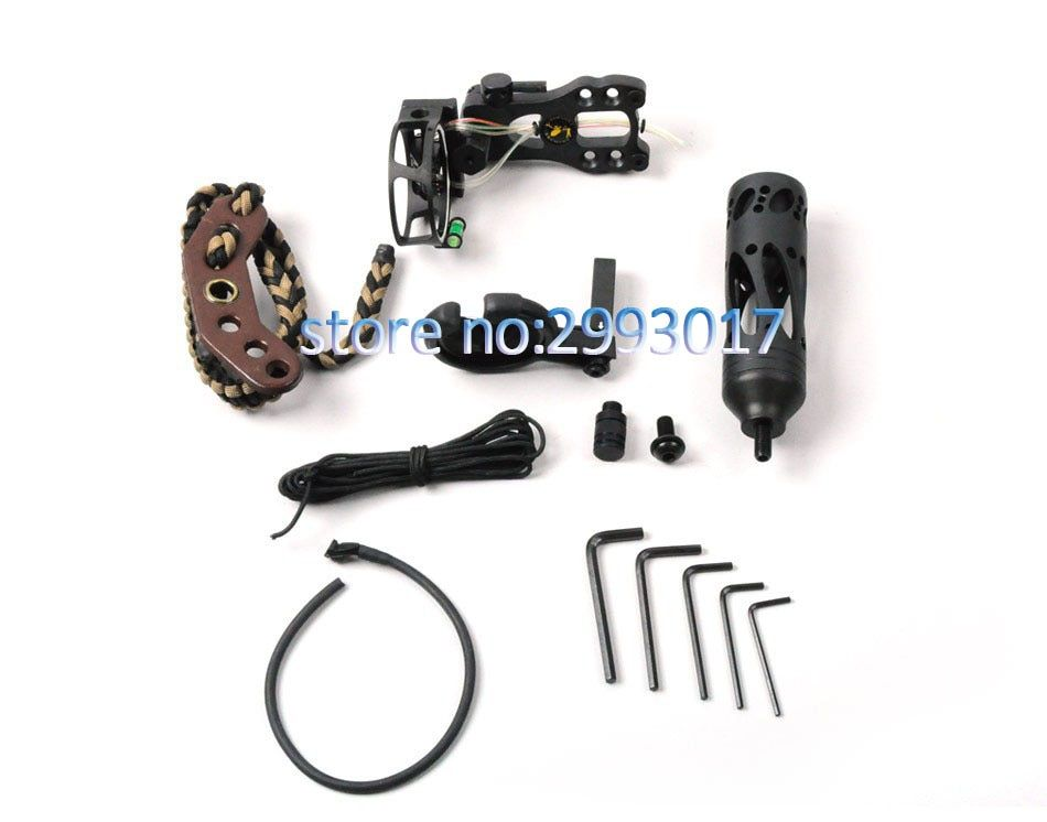 Topoint Archery Free shipping TP2000 Archery acccessories Combo set for compound bow archery upgrade combo