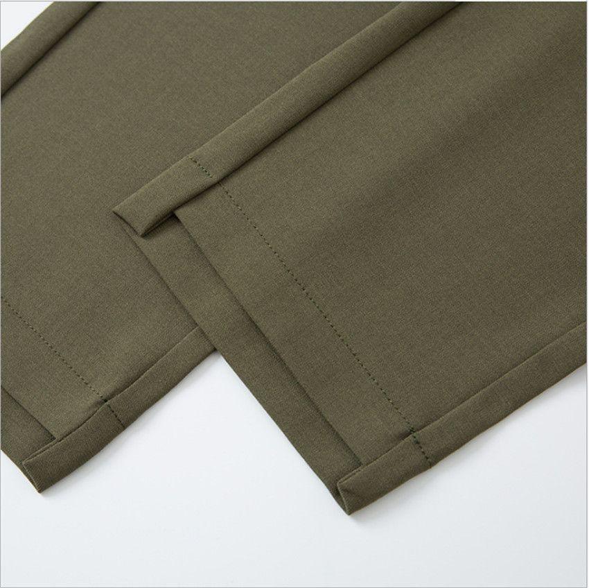 MLCRIYG Casual pants female new han edition of <font><b>tall</b></font> waist big yards wide feet pants