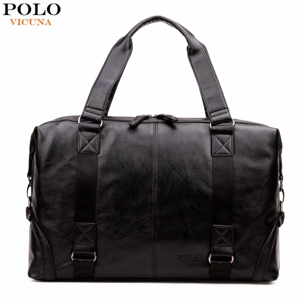 VIKUNJA POLO Molle tasche Große Kapazität Männlichen Leder Reisetasche Lässig Gepäcktasche Handtasche Multifunktions Umhängetasche Bolsos
