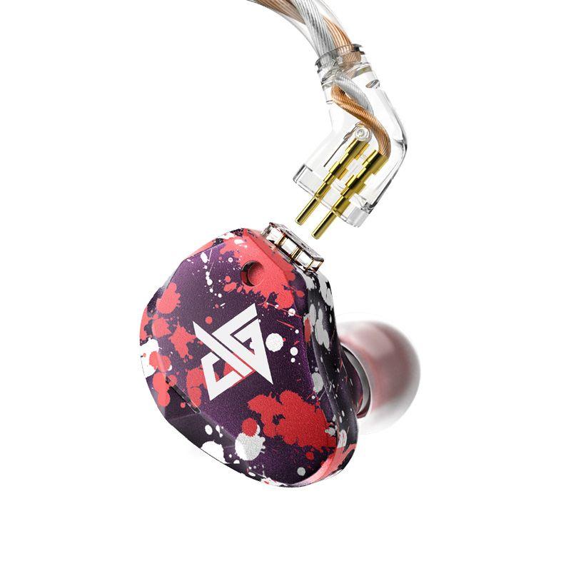 AK Neueste AUGLAMOUR RT-3 1DD + 2BA Knowles Hybrid Technologie In ohr Monitor Kopfhörer HIFI Bass Headset Ohrhörer Ohrbügel Headplug CNC