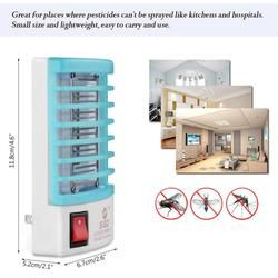2018 New Mosquito Killer Lamps LED Socket Electric Mosquito Fly Bug Insect Trap Killer Zapper Night Lamp Lights lighting 4 Color