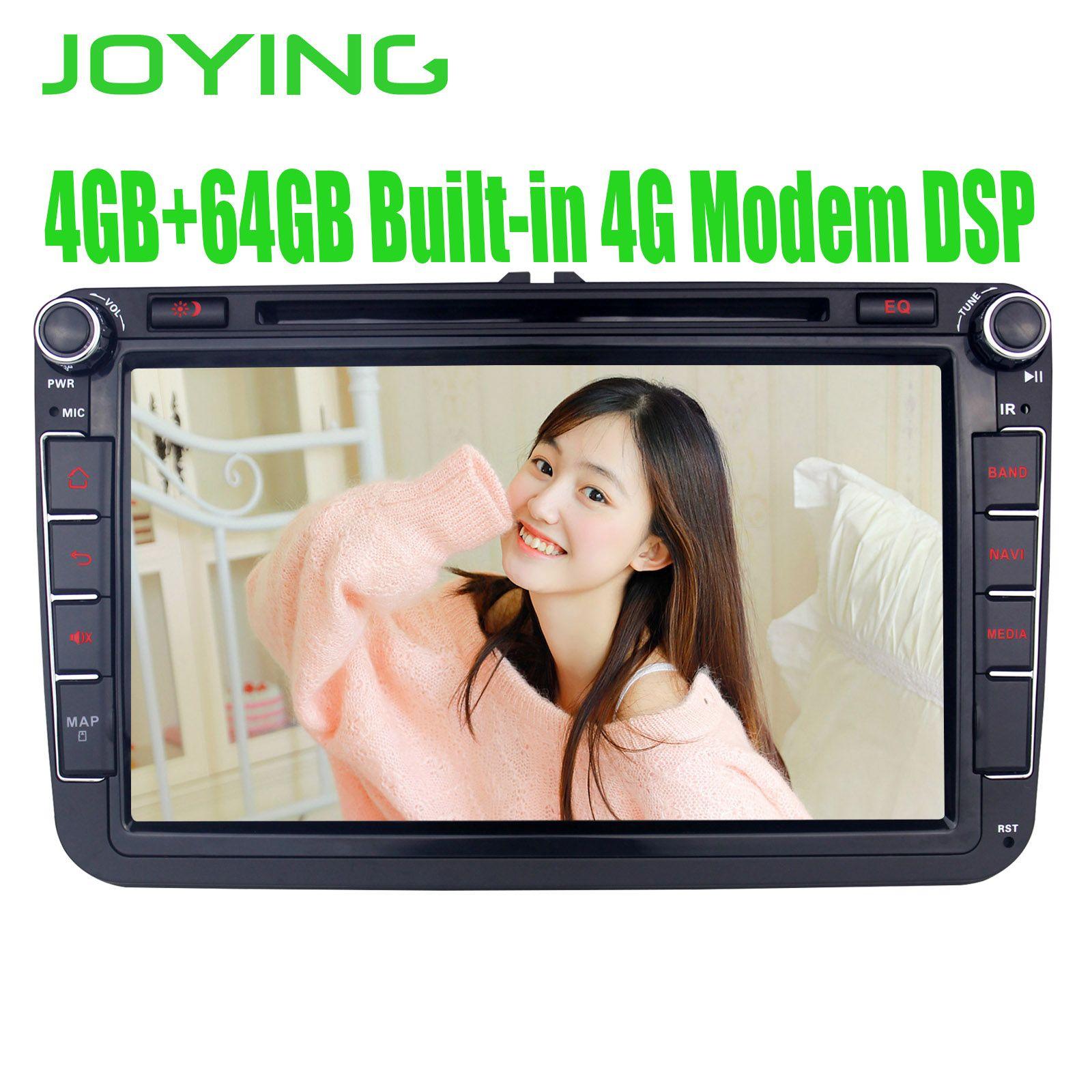 8 kopf Einheit Android 8.1 Auto Radio Stereo Für Volkswagen VW Skoda POLO GOLF PASSAT GPS Multimedia-Player Eingebaute 4G modem DSP