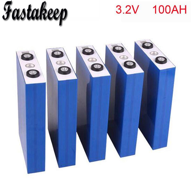 4 teile/los 3,2 v 100ah batterie pack li-ion lifepo4 lithium-ionen batterie für zurück up versorgung elektrische motorrad auto