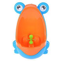 Marque Nouveau Bébé Urinoir Séparable Suspensible Belle Grenouille Forme Garçons Debout Urinoir Enfants Garçon Potty Toilettes Formation D'apprentissage Jouets