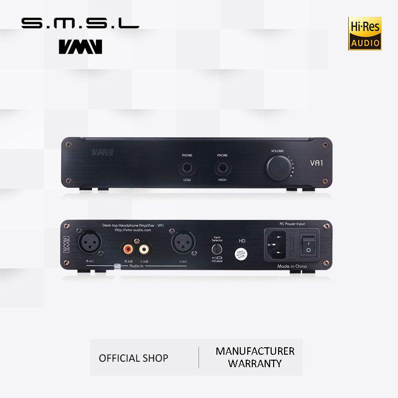 SMSL VA1-HD HALLO-FI Power Audio Verstärker Desktop Kopfhörer Verstärker 110 V/220 V Verstärker mit Ausgewogene Eingang Für HD650 HD600