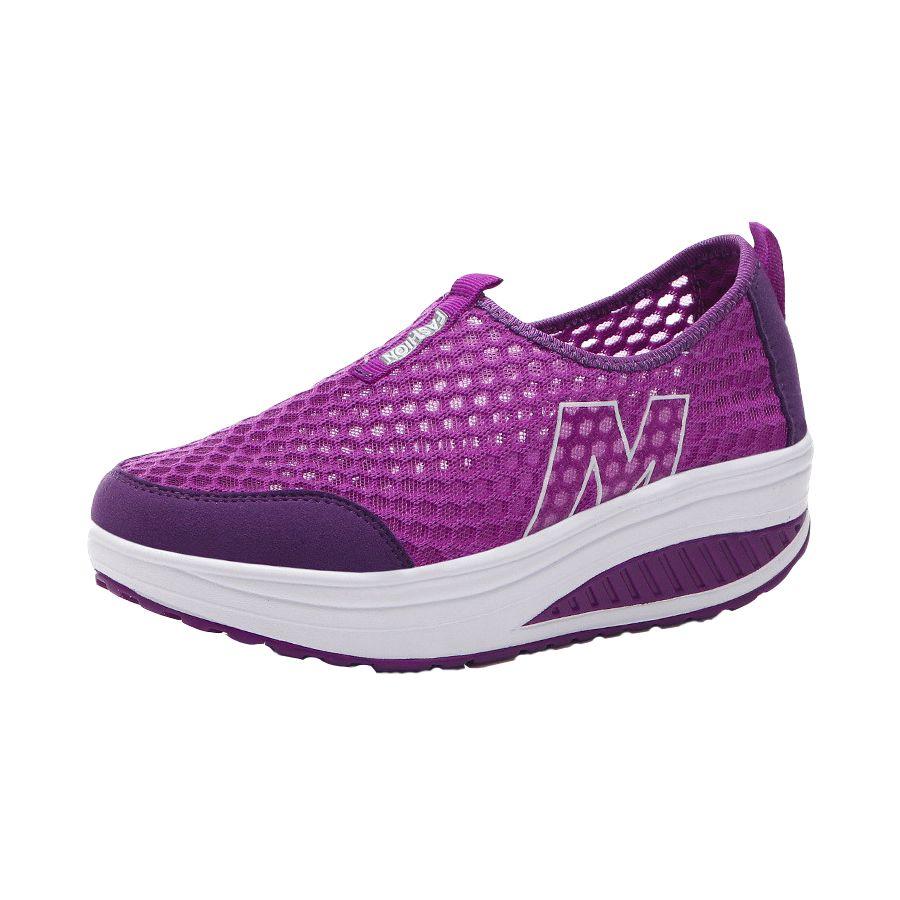 2019 offre spéciale femmes été chaussures de plein air printemps été automne chaussures à lacets minceur chaussures de balançoire chaude top qualité marche sneaker