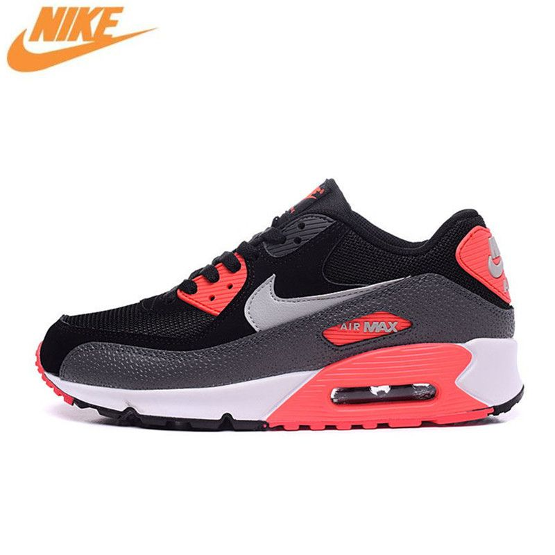 Nike Men's WMNS AIR MAX 90 ESSENTIAL Breathable Running Shoes,Original New Arrival Official Men Outdoor Sport Sneakers Trainers