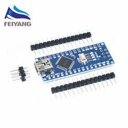 Nano Mini USB dengan Bootloader Kompatibel Nano 3.0 Controller untuk Arduino CH340 Usb Driver 16 MHz Nano V3.0 ATMEGA328P /168 P