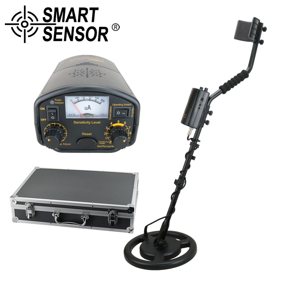 Professional Metal Detector underground 3M High Sensitive Max detection depth Treasure Hunter Pinpointer Gold digger SMARTSENSOR