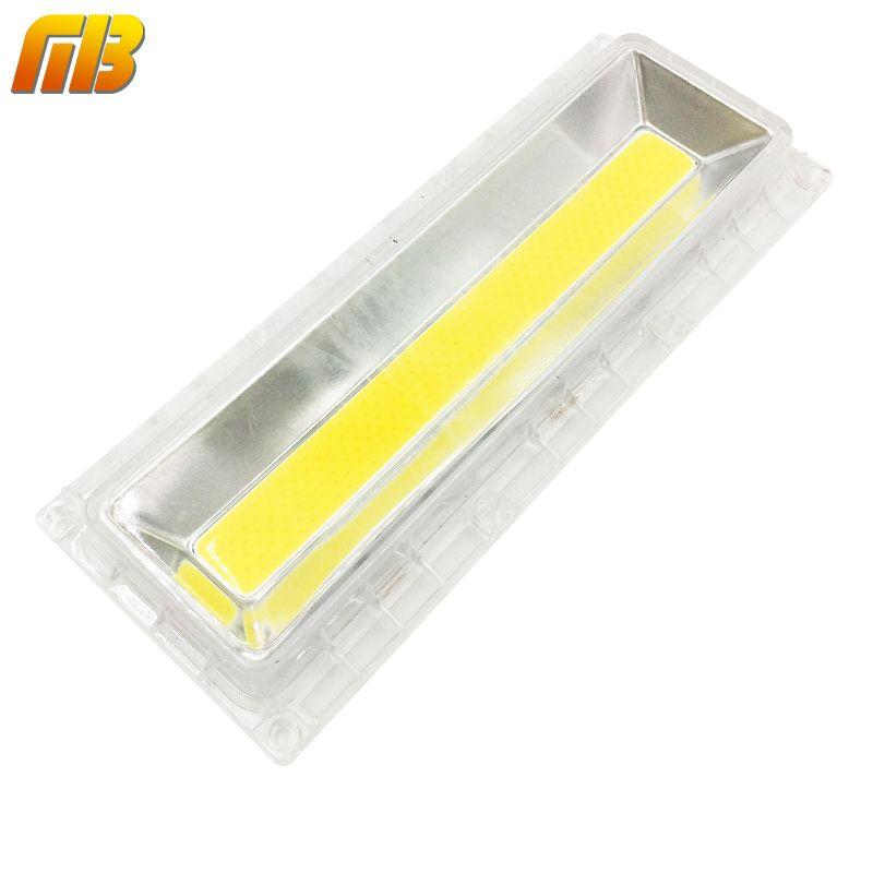 [MingBen] 1 Unidades Lámpara COB LED Con Lente Reflector Para DIY 30 W-150 W 220 V 110 V Incluye: LED COB Chip + PC lente + Reflector + Anillo De Silicona