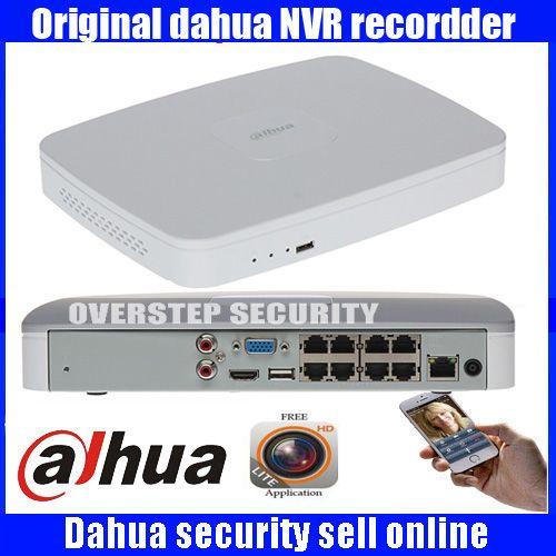 Ursprüngliche Englisch Firmware DAHUA POE DH-NVR4108-8P NVR4116-8P 8ch 16ch NVR mit 8 poe ports Smart 1U Mini NVR 1080 P Netzwerk NVR