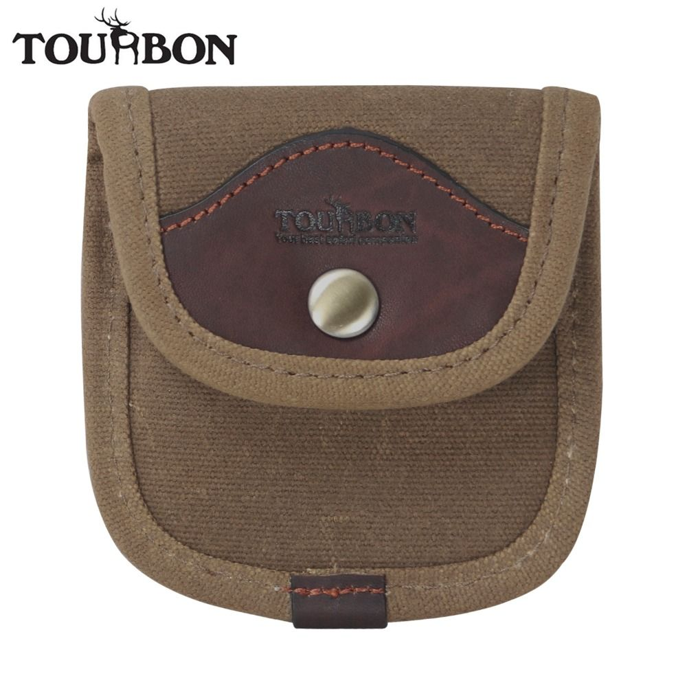 Tourbon accessoire de pistolet de chasse tactique porte-cartouche porte-monnaie en toile et cuir porte-munitions pour fixation de ceinture