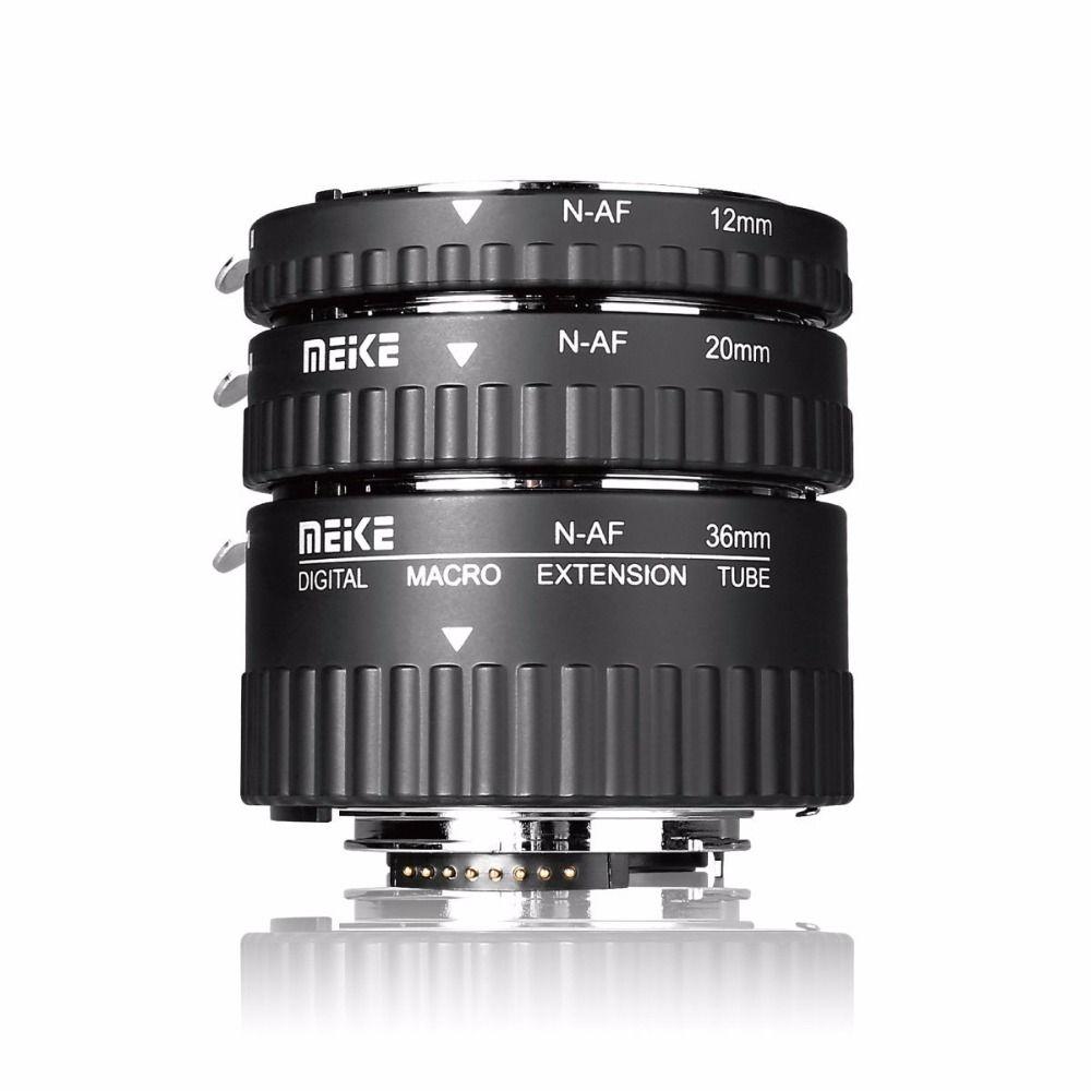 Meike MK-N-AF1-Al Adapter Auto Focus Extension tube Ring AF for NikonD3000 D3100 D3200 D3400 D5000 D5100 D5200 D5300 D7000 D7200