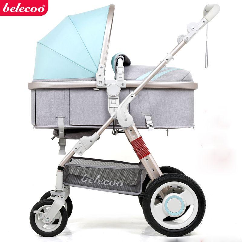 Belecoo Детские коляски Русский Бесплатная доставка Детские коляски