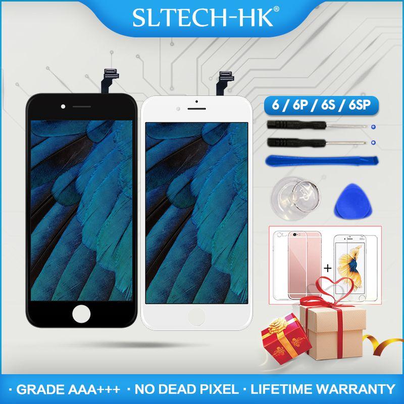 Grade AAA + + + Pour iPhone 6 6 s Plus LCD Avec 3D Force Écran Tactile Digitizer Assemblée Pour iPhone 5S affichage Pixel Mort Non