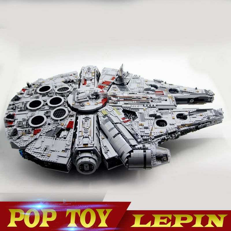 In stock Lepin 05132 New 7541Pcs Ultimate Collector's Destroyer Star Series Wars Building Blocks Bricks Children legoed 75192