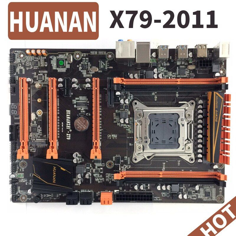 HUANAN deluxe huananzhi X79 LGA 2011 DDR3 PC Motherboards Computer Motherboards Suitable for server RAM desktop RAM M.2 SSD