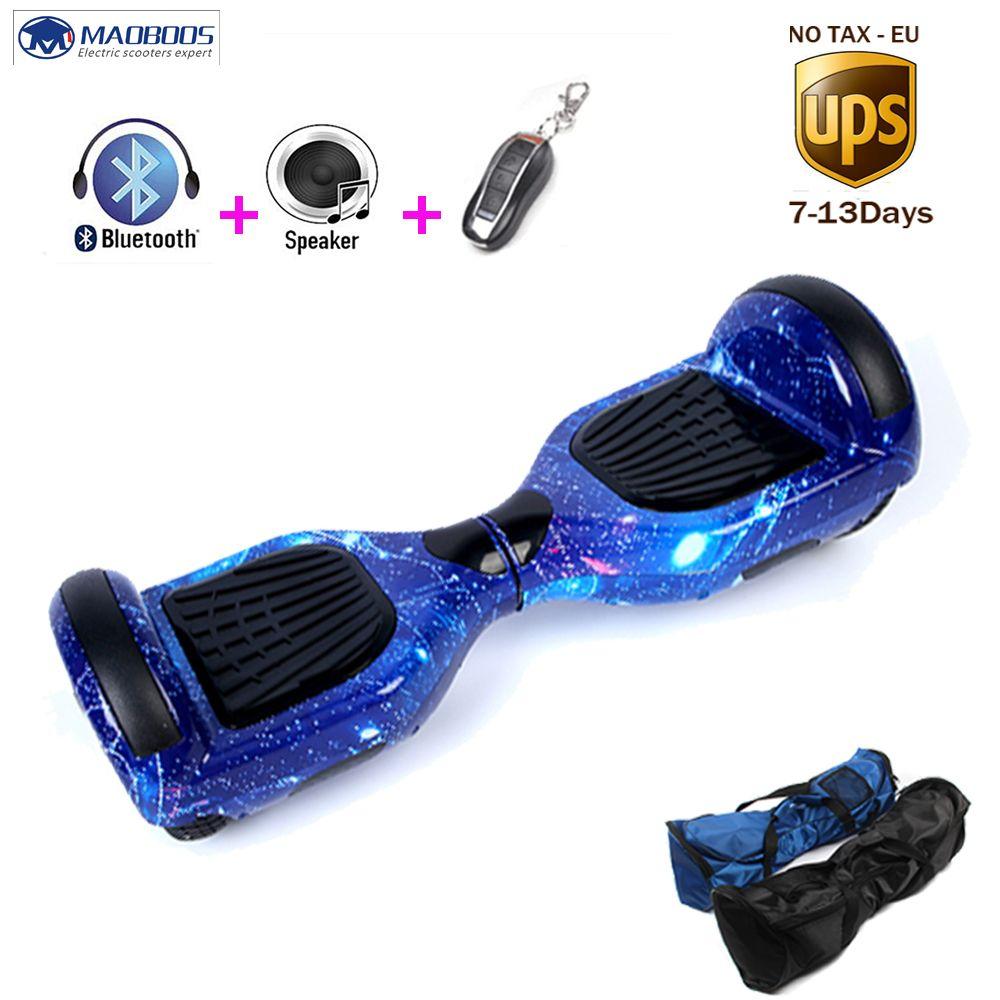 Elektroroller Hoverboard 6,5 zoll 2 Räder Elektrische Skateboard selbstabgleich Hoverboard Elektroroller Gyroscoot Hoverboards