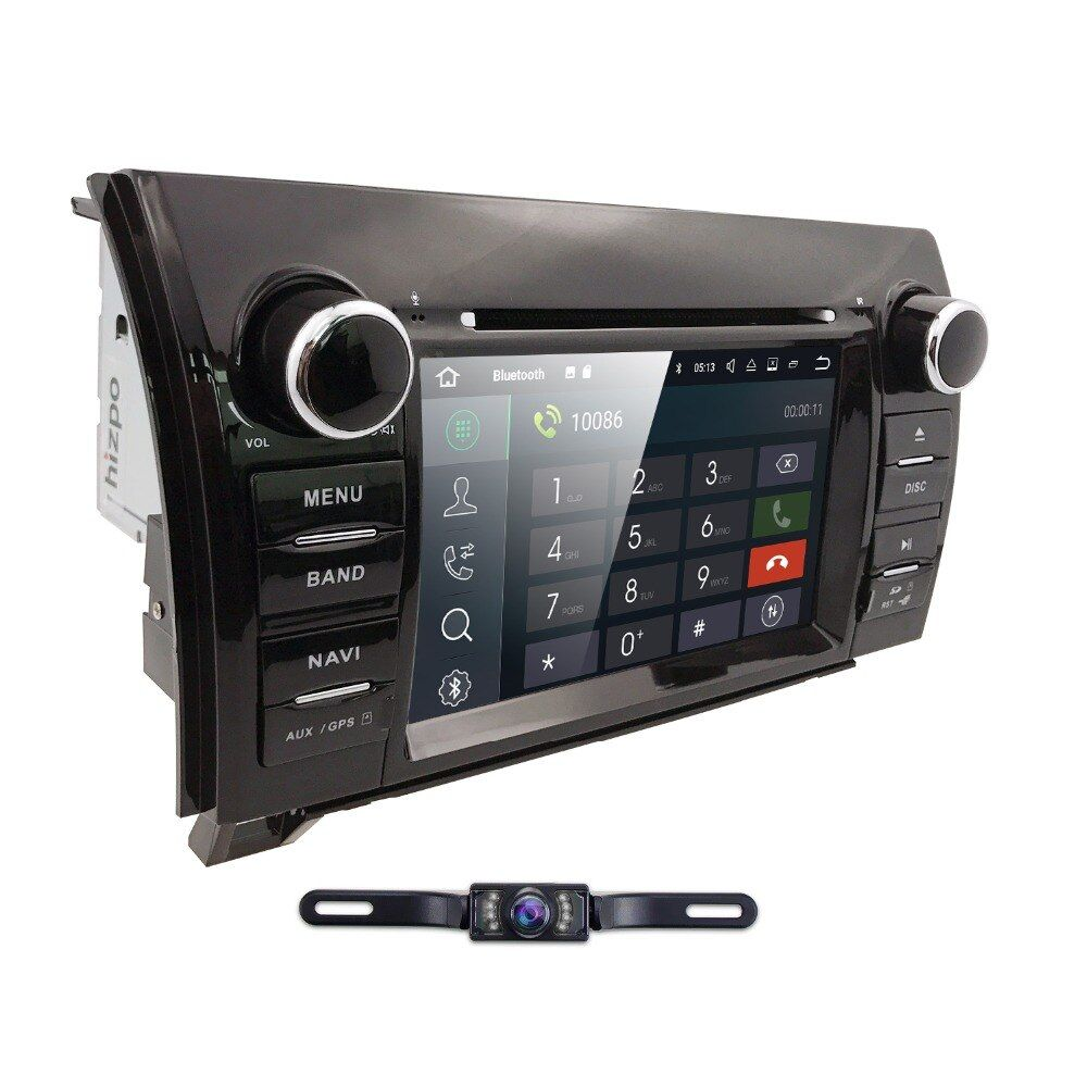 Android 8.0 7 Inch 2 Din HD1024x600 Eight Core Car DVD GPS For Toyota Tundra Sequoia 2008-2013 Stereo Radio camera OBD DVR DAB+