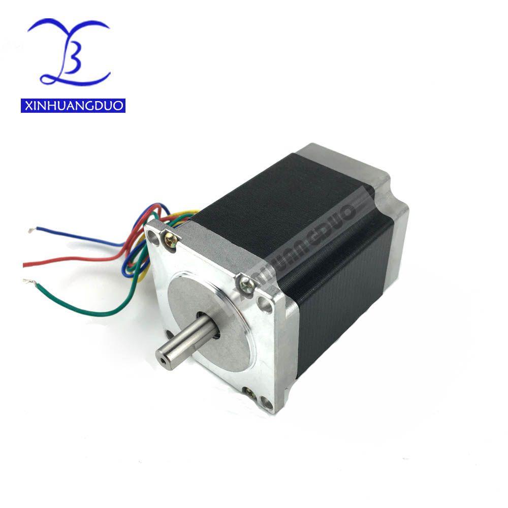 Free shipping 1 PCS, 2 phase, 4-Leads 18Kgcm 76mm CNC Nema 23 Stepper Motor , 3D Printer 23HS8430 57BYGH