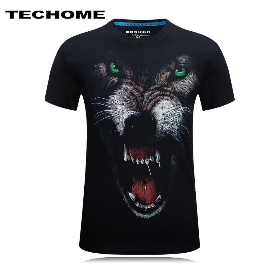 Men 3D Printed tiger Parrot Dragon Short Sleeve T-Shirt Homme Casual Brand Clothing O-neck Male T Shirt Cotton Camisetas 5XL 6XL
