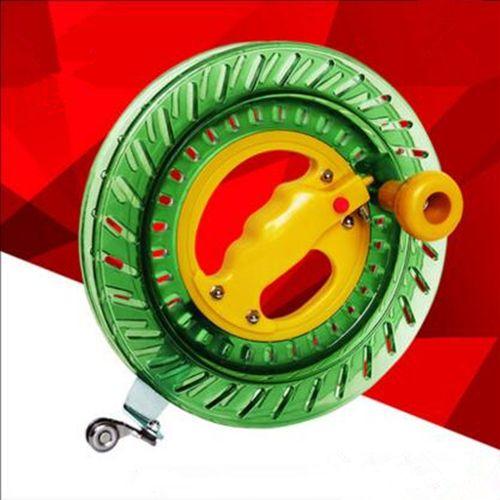 Livraison gratuite 18 cm cerf-volant bobine 200 m cerf-volant chaîne jouets de plein air facile à ouvrir enfants cerfs-volants usine en gros weifang arc-en-ciel set windchaussette