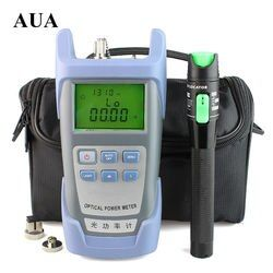20 mW Visuel Localisateur de défaut De Fiber Optique Testeur de Câble et Fiber Optique Power Meter (-70 ~ + 10dBm) Fiber Optique Puissance 10-20Km test stylo