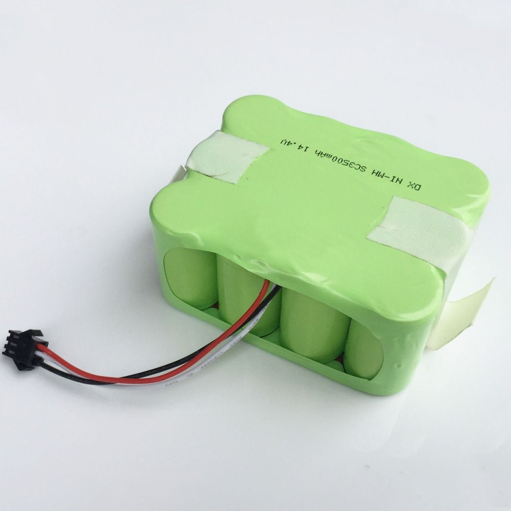 14.4V Ni-MH SC battery pack 3500MAH SM Plug Vacuum Sweeping Cleaner Robot for KV8 XR510 XR210A XR210B XR510A XR510B XR510C 510D