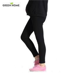 Nouveau 100% Coton Femmes Enceintes Leggings Réglable Haute Élasticité De Maternité Leggings Enceintes Pantalon pour L'hiver De Maternité Pantalon