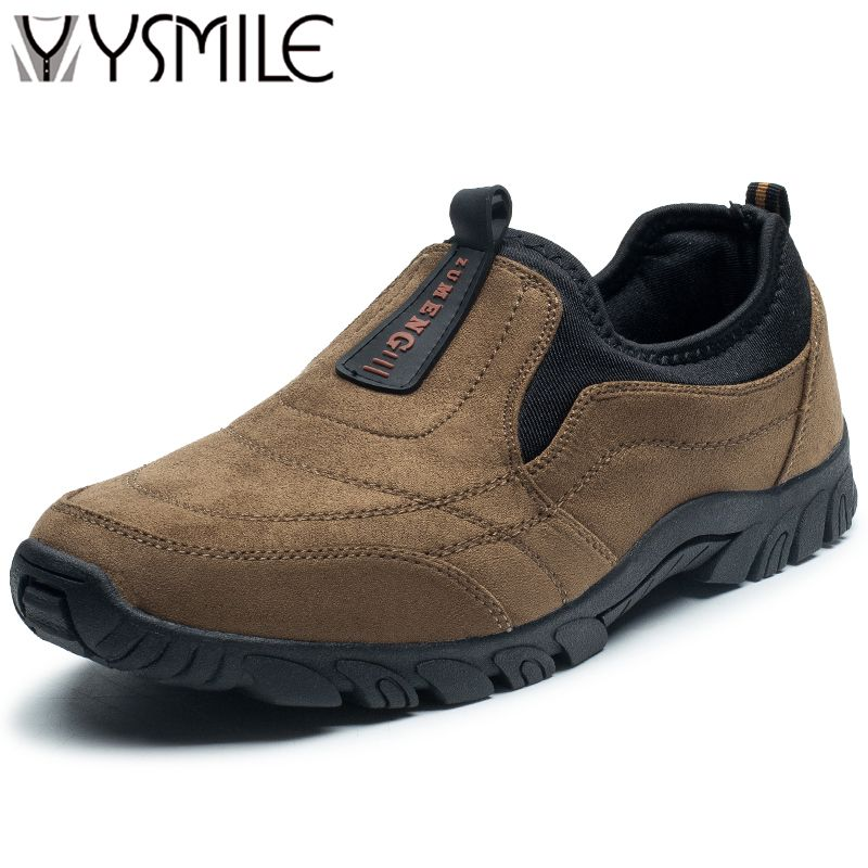 2017 New fashion wedges men casual shoes slip on non-slip thick sole walking shoes mens trainers male super brand shoes sales