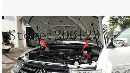 For Mitsubishi Pajero V93 V97 V77 V33 v87 v83 ACCESSORIES CAR BONNET HOOD GAS SHOCK STRUT LIFT SUPPORT CAR STYLING