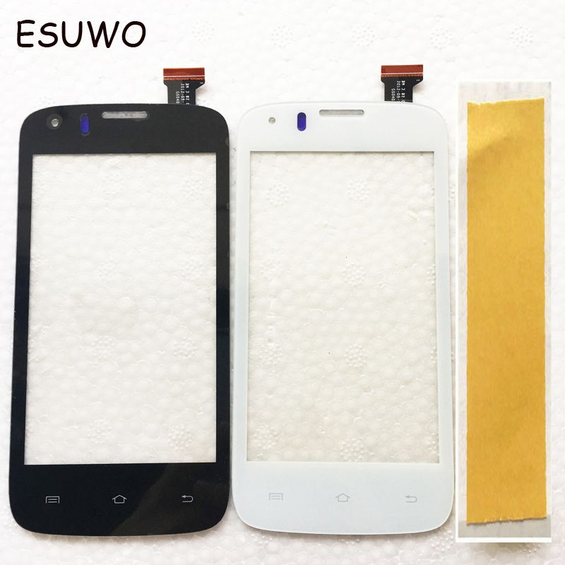ESUWO Touch Panel Sensor Glass For Prestigio MultiPhone PAP4055 DUO 4055 Touch Screen Digitizer Touchscreen Front Lens