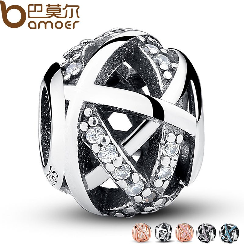 Original Charm Fit Bracelet 925 Sterling Silver Bead Galaxy Openwork With World Beads Jewelry Making Berloque PAS058