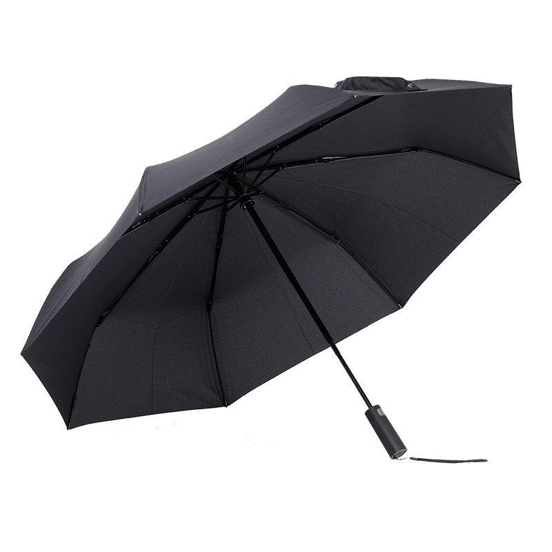Xiaomi Mijia Automatic Umbrella Quick-dry Nanofabrics Foldable Mini Portabel Sunny Rainy Aluminum Windproof UV-proof Black