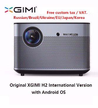 Original XGIMI H2 Projektor Heimkino 300 Zoll 1080P Volle HD 3D Android Bluetooth Wifi Suppor4K DLP TV Beamer