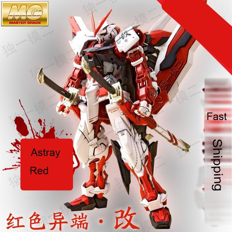 Daban Modèle MG Gundam Astray cadre rouge MBF-P02 KAI 1/100 animé japonais assemblé Kits PVC figurines d'action robots jouets pour enfants en boîte