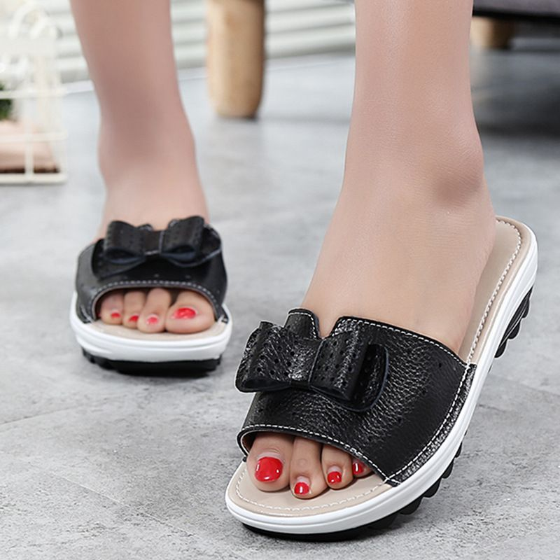 3447G round spring summer sandals thick bottom muffin with women's shoes manufacturers direct sales