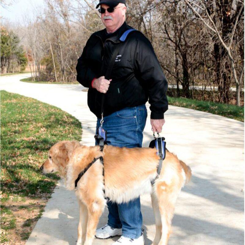 3-32KG Dog Front and Rear Portion Harness Vest Pet Lifting Aid Adjustable Easy Walk Belt For Older Injured Invalid Dogs Outdoor