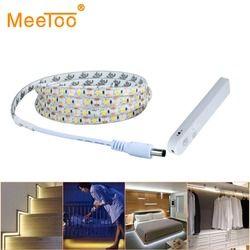 PIR Motion Sensor Led Bande Flexible Lumière 2835 Étanche Lit Armoire placard Lumière 1 m 2 m 3 m 5 V USB LED Bande Lampe TV rétro-éclairage