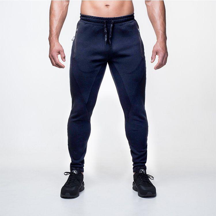 2016 neue Ankunft MÄNNER jogginghose ganzkörperansicht schwarz marineblau Größe M-XXL Jogginghose fitness tragen Trainingshose