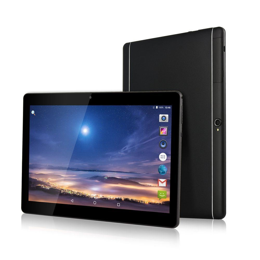 ZONNYOU 2018 Newest Google Android 6.0 OS 10.1 inch tablet 4G LTE Octa Core 4GB RAM 32GB ROM 1920*1200 IPS Kids Gift Tablets 10
